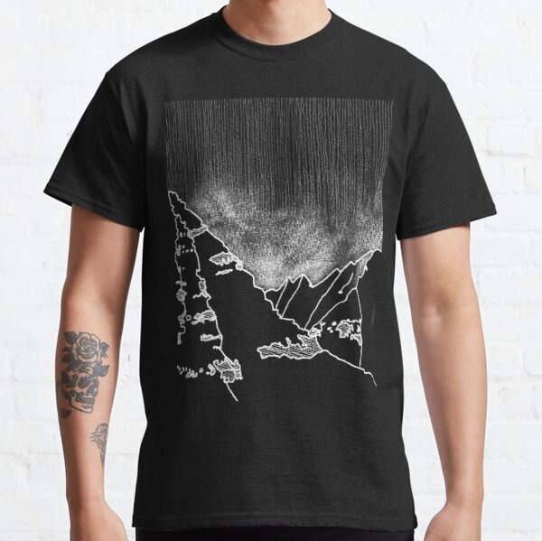 Iceland Series - Eternal Mystery (White Ink) Classic T-Shirt