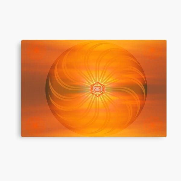 Sacral Chakra ~ Orange ~ Svadisthana ~ Female Canvas Print