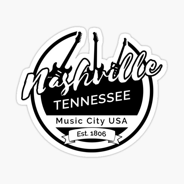 Nashville Tennessee Sticker