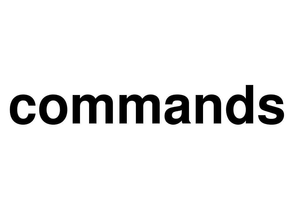 commands by ninov94