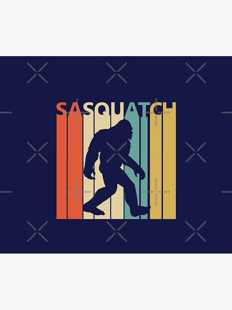 Vintage Retro Bigfoot Sasquatch by polveri
