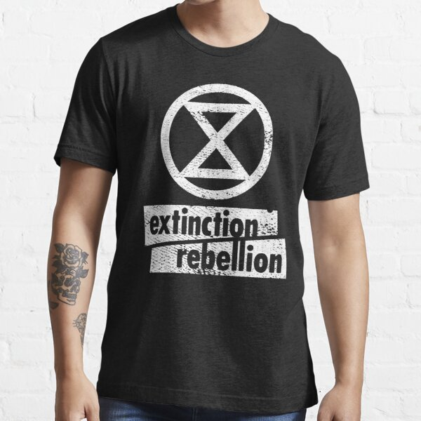 Extinction Rebellion (distressed design) Essential T-Shirt