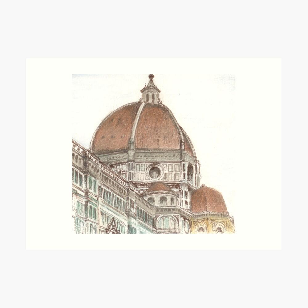 The Duomo, Florence Kunstdruck