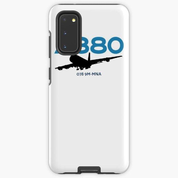 Airbus A380 078 9M-MNA (Black)  Samsung Galaxy Tough Case