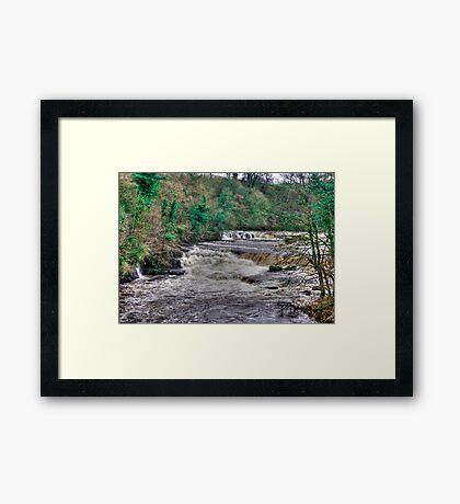 Aysgarth Falls  - Yorkshire Dales Framed Print