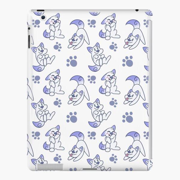 Scribble Kibble Puppy Pattern - White iPad Snap Case