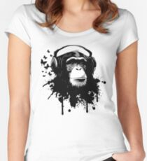 Monkey Business Women's Fitted Scoop T-Shirt