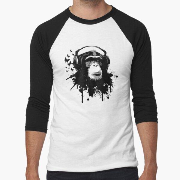 Monkey Business Baseball ¾ Sleeve T-Shirt