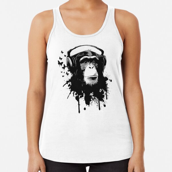 Monkey Business Racerback Tank Top