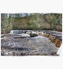 Aysgarth Falls - Wensleydale Poster
