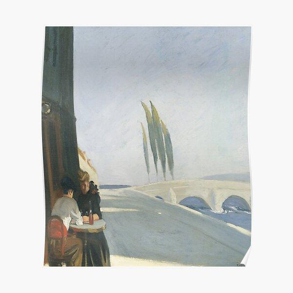 Bistro-Edward Hopper Póster