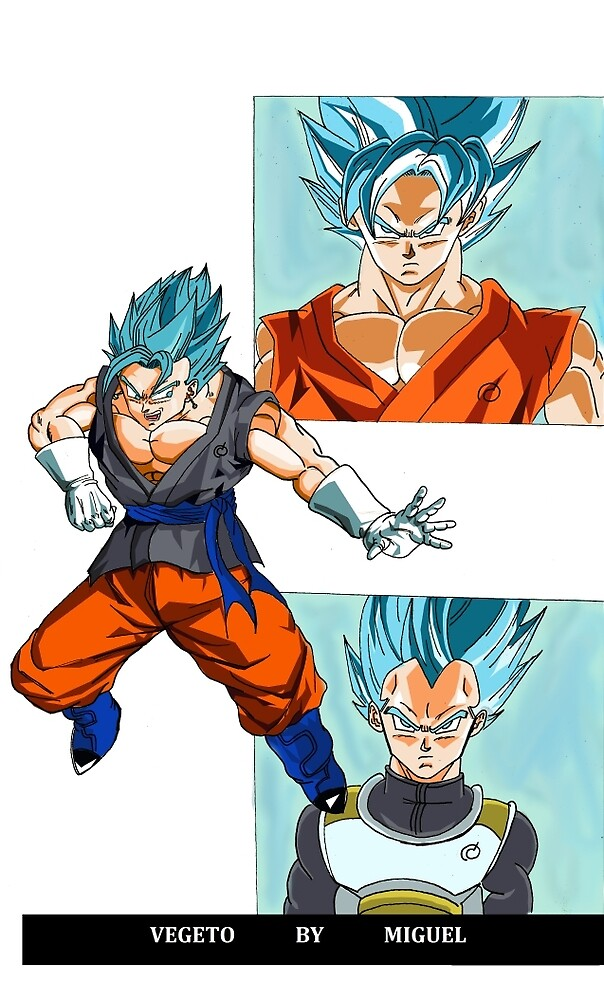 vegeto ssgss by migueldraw