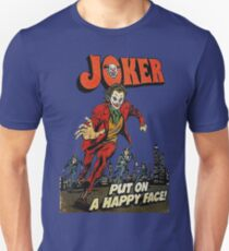 The Joker Put on a Happy Face Slim Fit T-Shirt