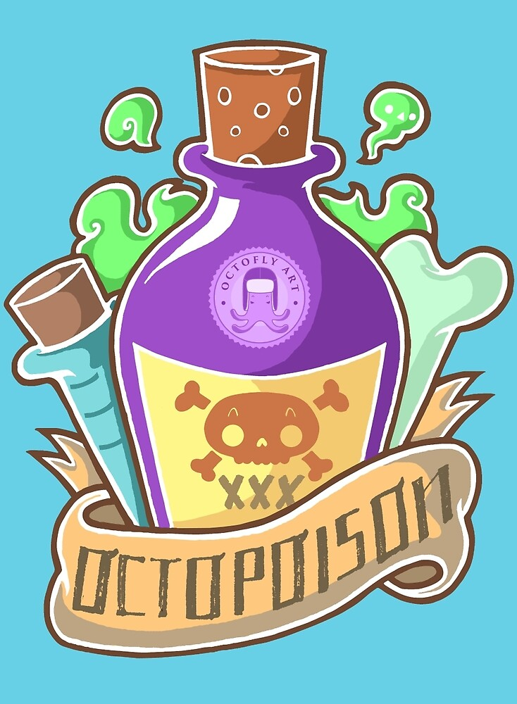Octopoison by octoflyart