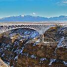 Rio Grande Gorge bridge by Nancy Richard