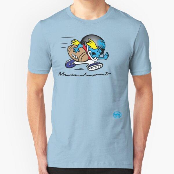 american footbal tshirt by rogers bros Slim Fit T-Shirt