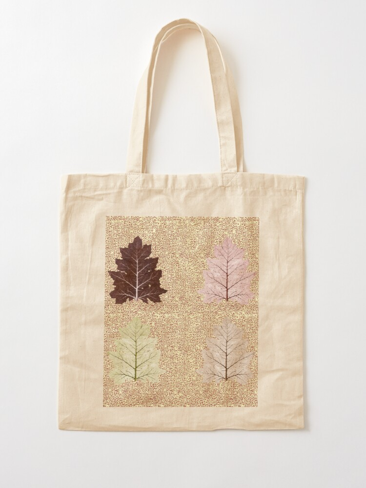 Alternate view of Fiction of a leaf. Autumn Falls Tote Bag