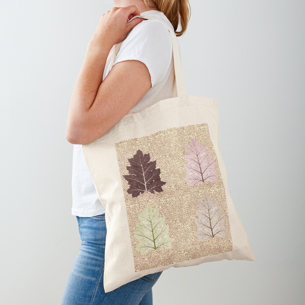 Fiction of a leaf. Autumn Falls Tote Bag