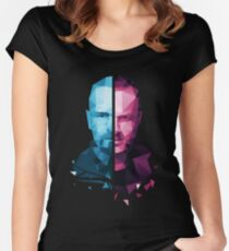 Breaking Bad - White/Pinkman Women's Fitted Scoop T-Shirt