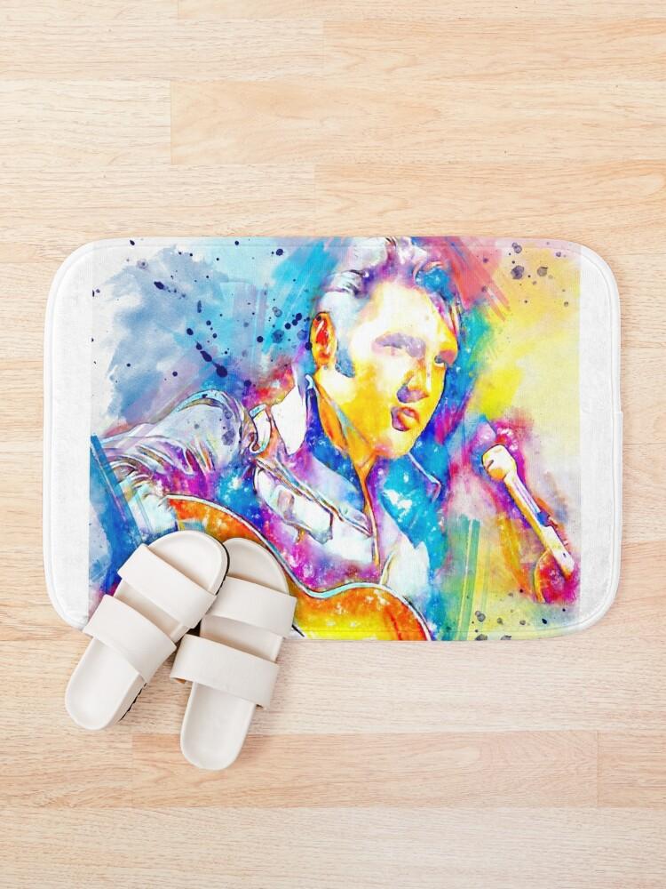 Alternate view of Elvis  Bath Mat