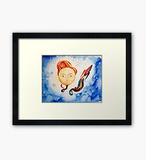Team Coco in SPACE Framed Print