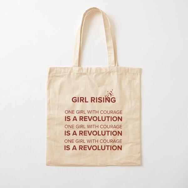 Girl Rising Cotton Tote Bag
