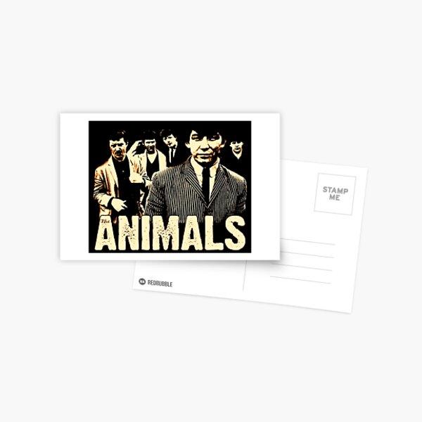 The Animals Postcard