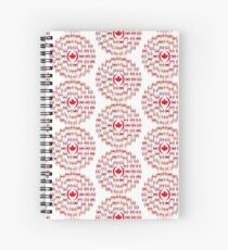 We Are Canada Multinational Patriot Collective  Spiral Notebook