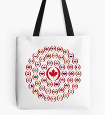 We Are Canada Multinational Patriot Collective  Tote Bag