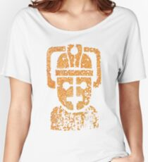 Rusting Cyberman Logo Women's Relaxed Fit T-Shirt
