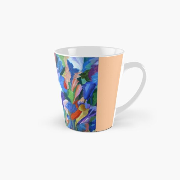 Dance of the Flowers. From an original acrylic painting by Pamela Parsons. Tall Mug