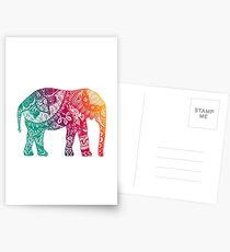 Warm Elephant Postcards
