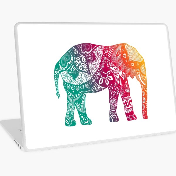 Warm Elephant Laptop Skin