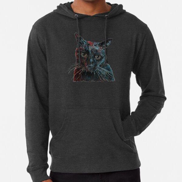 Space Cat Lightweight Hoodie