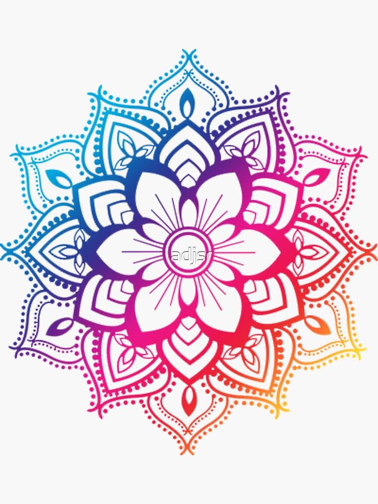 Warm Mandala by adjsr