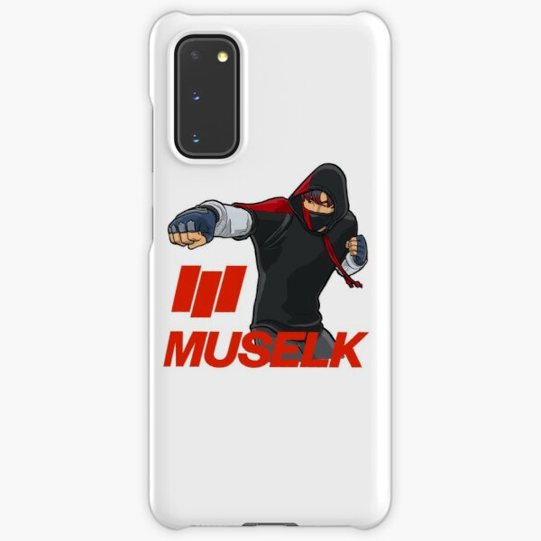 Muselk Punching Character with 3 line logo Samsung Galaxy Snap Case