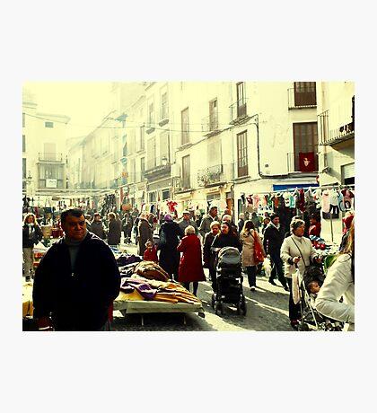 The Rush Hour.. Photographic Print
