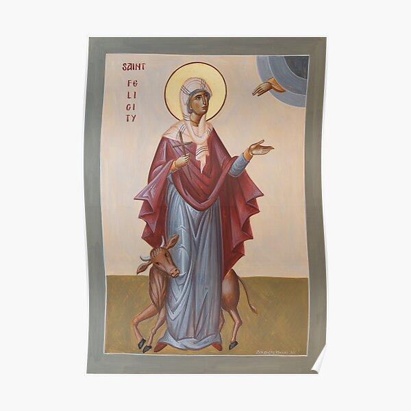 St Felicity Poster