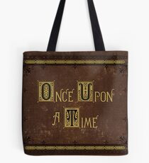 Once Upon A Time Book Tote Bag