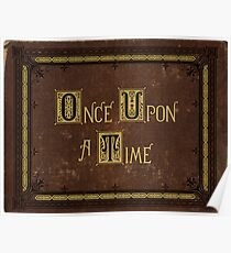 Once Upon A Time Book Poster