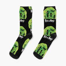 Schwifty Patrol Socks