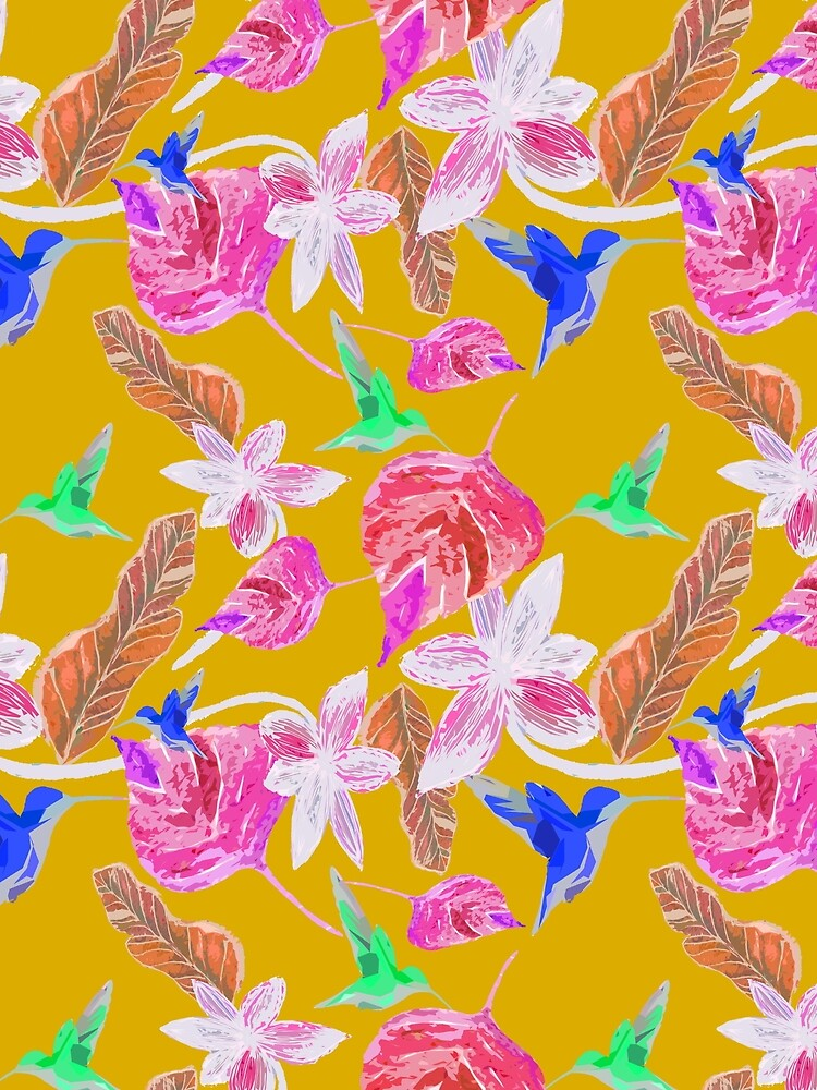 Kolibri und botanic von RanitasArt