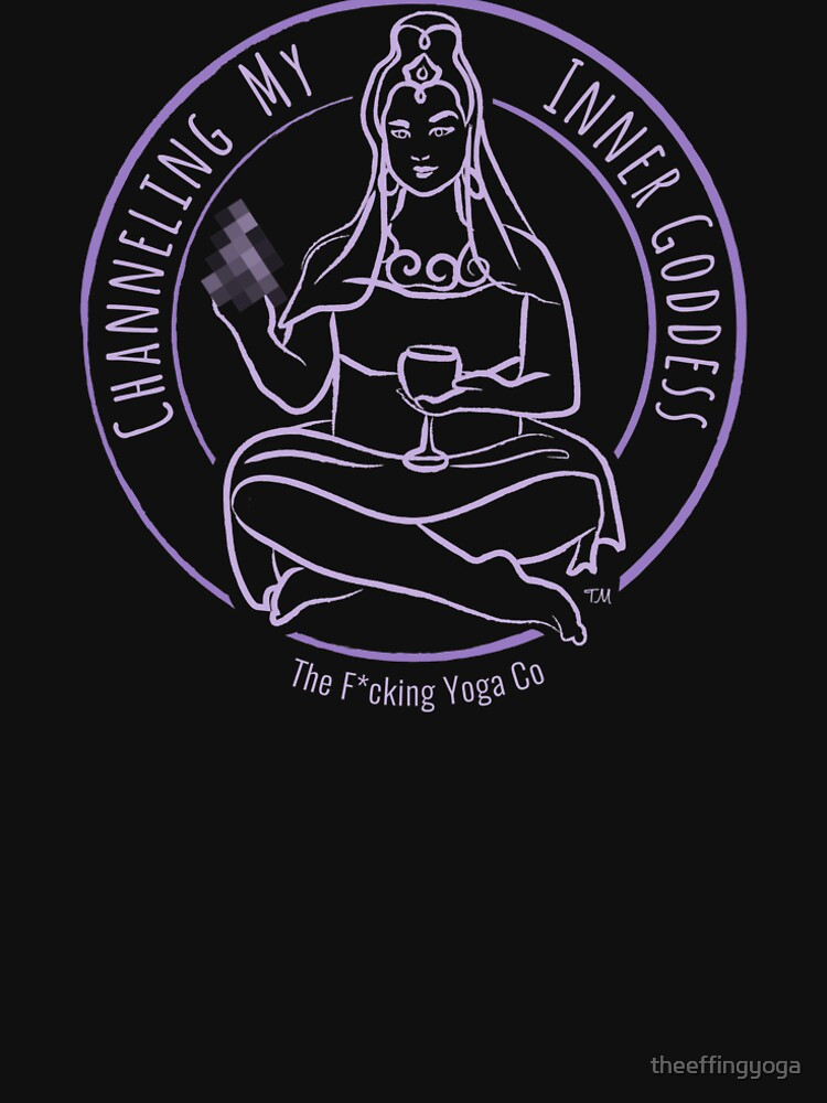 """""""Channeling My Inner Goddess"""" featuring The F*cking Yoga Goddess by theeffingyoga"""
