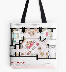 Ted Mosby's apartment from 'HIMYM' Tote Bag