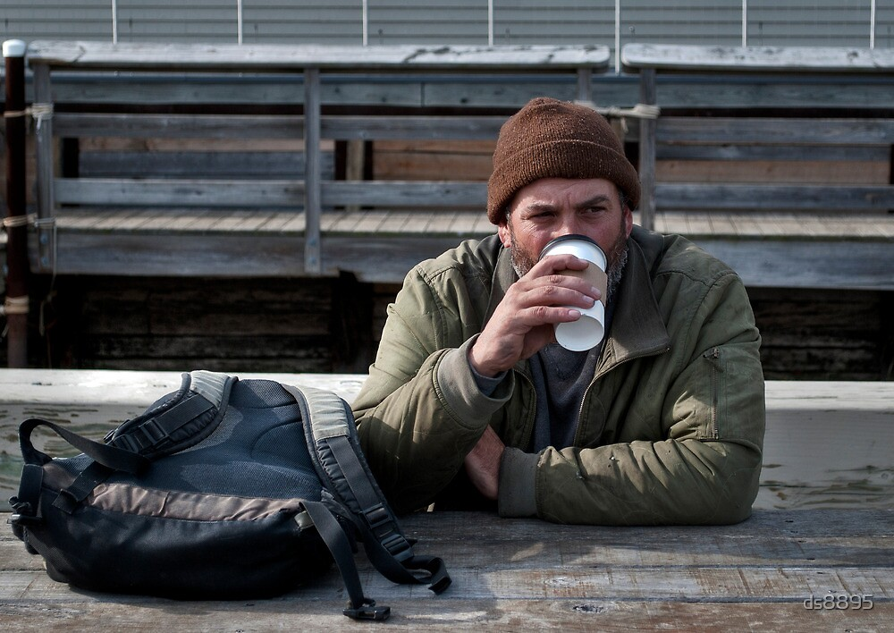 A Man and His Coffee by ds8895