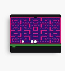 Lost 80s - Where is my Pac-Man? Canvas Print