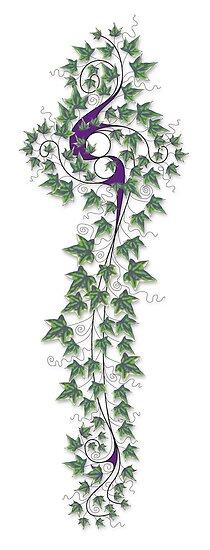 Ivy Tattoo by John Dean