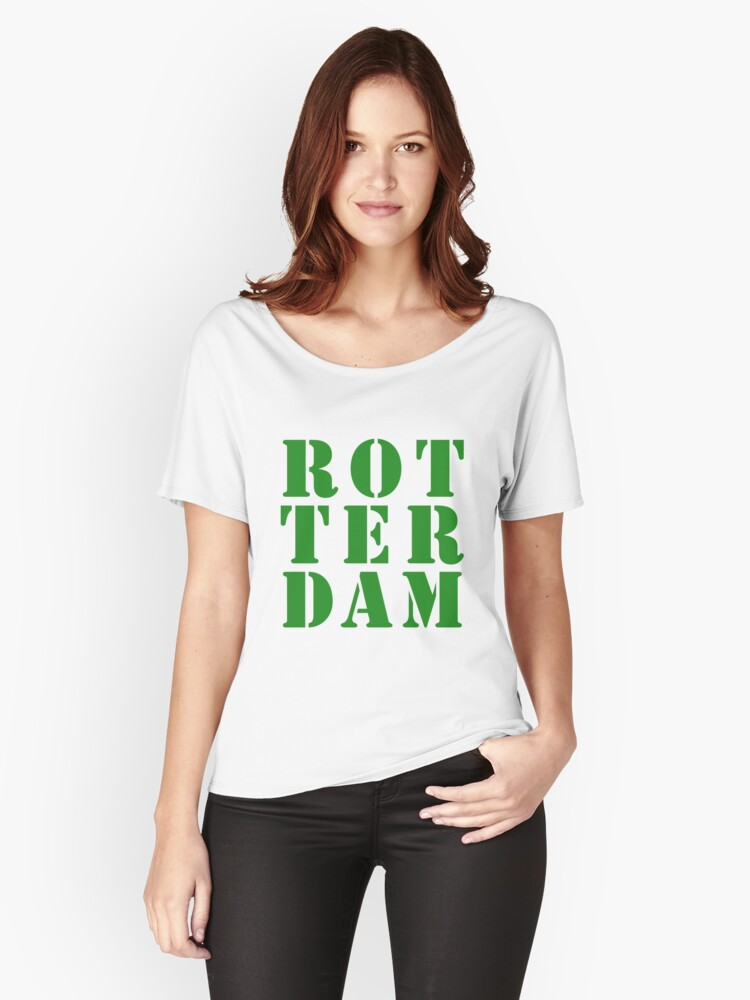 ROTTERDAM Women's Relaxed Fit T-Shirt Front