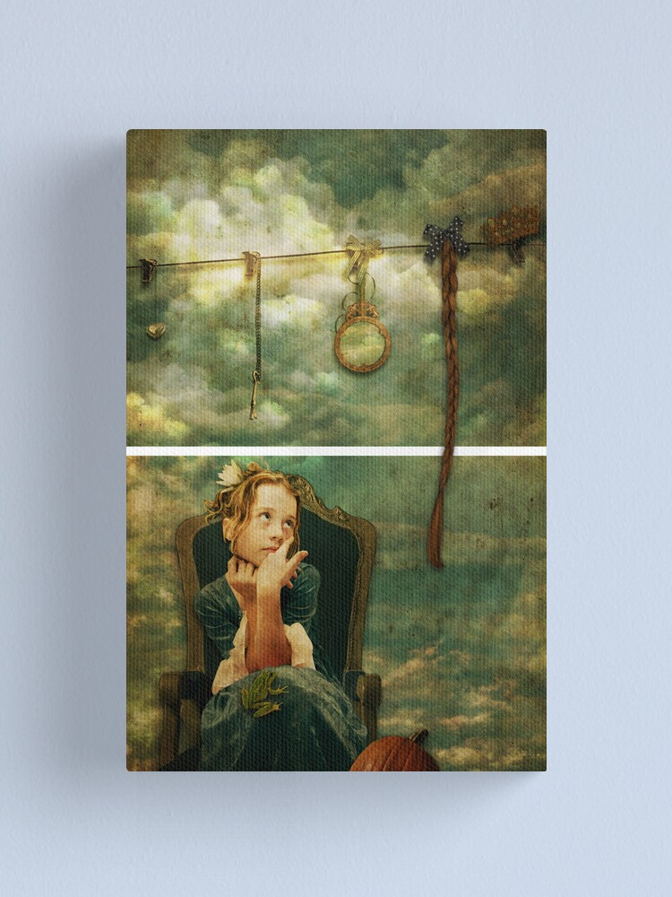 Alternate view of Rapunzel Dreams Canvas Print