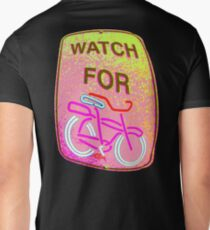WATCH OUT!!! Men's V-Neck T-Shirt
